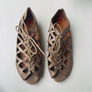 MIA lace up sandal